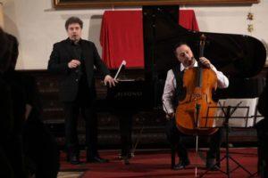 Concerto di Musica da Camera con un Duo di eccezione GABRIELE GEMINIANI – Violoncello MONALDO BRACONI – Pianoforte
